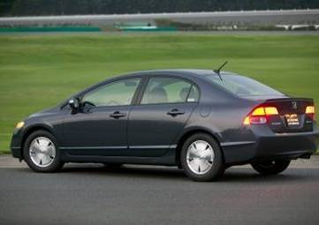 civic hybrid car
