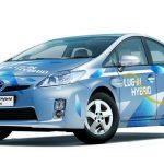 Toyota Prius Is On Trials In Strasbourg