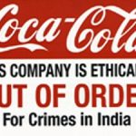 Coca Cola - Not Showing Responsible Behavior In India