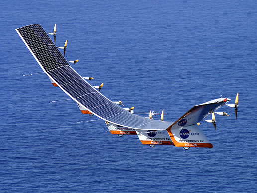 solar powered plane