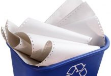 interesting facts about paper recycling