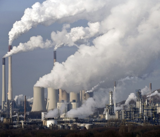 greenhouse gases affect climate change