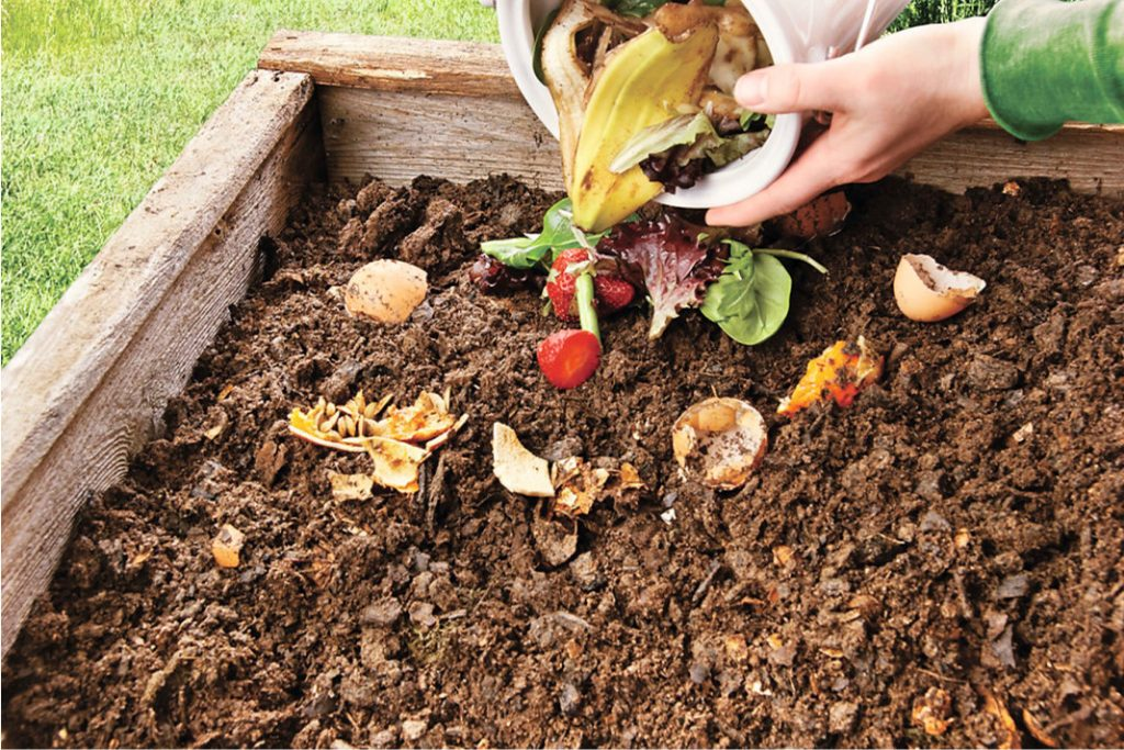 5 ways you can make your own compost pit. Black Bedroom Furniture Sets. Home Design Ideas