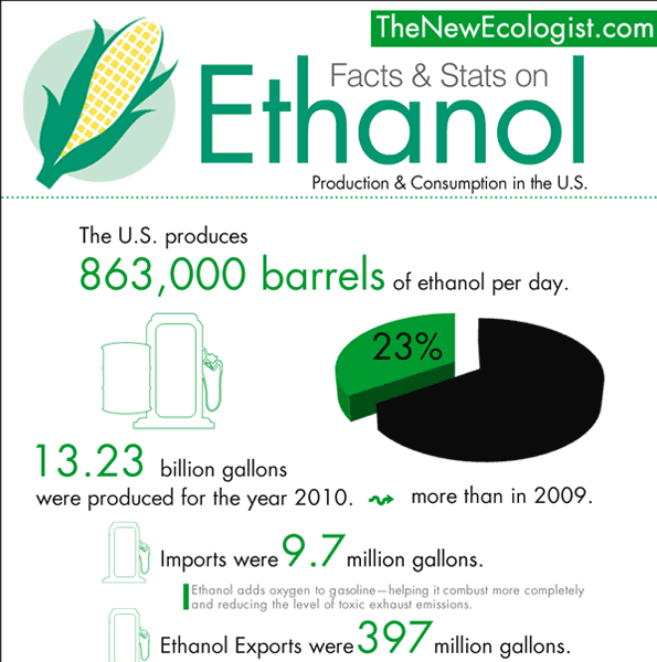 ethanol production in the us infographic