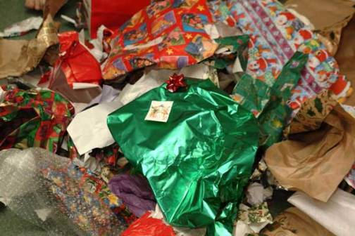 Post Holidays Recycling Facts and Ideas