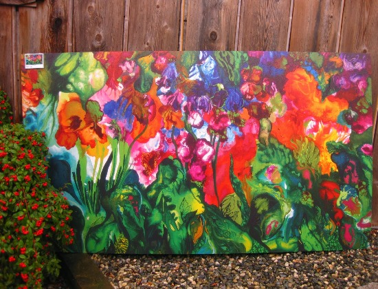 gardening into a palette for art