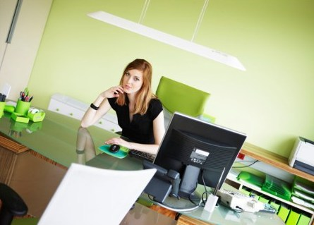 how to make an eco friendly office