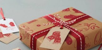 green ideas for gift wrapping