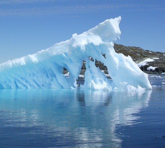 glaciers from melting